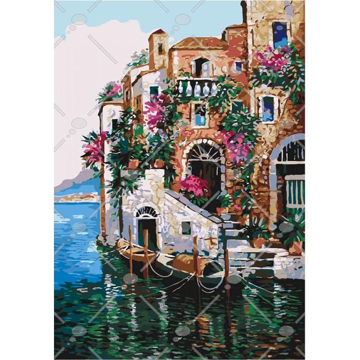 Рисование по номерам Цвета Тосканы KH2736 Идейка 40 х 50 см