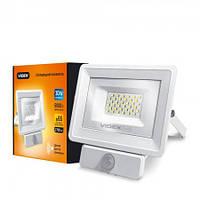 LED прожектор VIDEX 30W VL-Fe-305W-S white