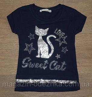 "Комплект футболка+ шорты для девочки на 92-98-104-110 рост ""Benini"" Турция, фото 2"