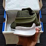 """Чоловічі кросівки Adidas EQT Support ADV """"Khaki"""". Живе фото. Топ якість! (Репліка ААА+), фото 4"""