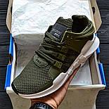 """Чоловічі кросівки Adidas EQT Support ADV """"Khaki"""". Живе фото. Топ якість! (Репліка ААА+), фото 2"""