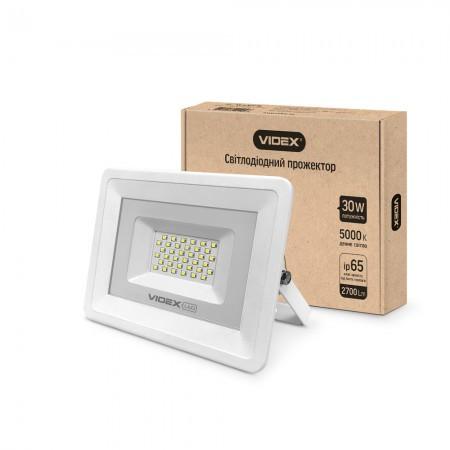 LED прожектор VIDEX 30W VL-Fe305W white