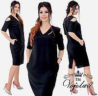 Жіноче елегантні сукні з брошкою т. м. Vojelavi A1215
