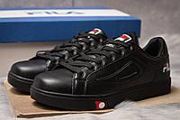 Кроссовки мужские  Fila, черные (14941) размеры в наличии ► [  43 (последняя пара)  ], фото 1