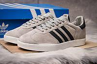 Кроссовки мужские 14134, Adidas Gazelle, серые ( 42  ), фото 1