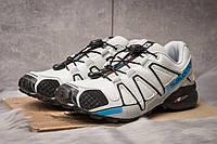 Кроссовки мужские  Salomon Speedcross 4, серые (14963) размеры в наличии ► [  41 (последняя пара)  ], фото 1
