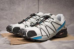Кроссовки мужские  Salomon Speedcross 4, серые (14963) размеры в наличии ► [  41 (последняя пара)  ]