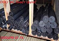 Капролон (полиамид), стержень графитонаполненный, диаметр 45.0 мм, длина 1000 мм.