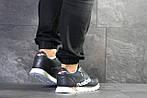Мужские кроссовки Reebok (темно-синие с белым) , фото 2