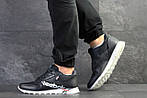 Мужские кроссовки Reebok (темно-синие с белым) , фото 4