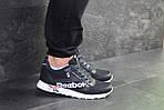 Мужские кроссовки Reebok (темно-синие с белым) , фото 3