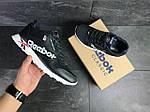 Мужские кроссовки Reebok (темно-синие с белым) , фото 5