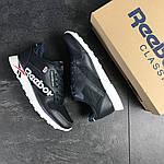 Мужские кроссовки Reebok (темно-синие с белым) , фото 6