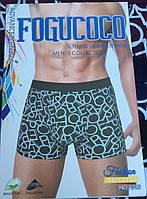 """Мужские боксеры хлопок """"FOGUCOCO"""" L-3XL - 039308"""