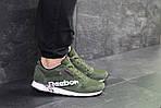 Чоловічі кросівки Reebok (темно-зелені), фото 3