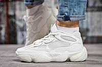 Кроссовки женские  Adidas Yeezy 500, белые (15472),  [  39 (последняя пара)  ], фото 1