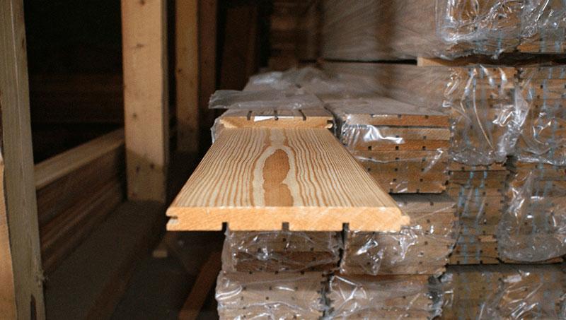 Вагонка деревянная Лиственница 14х110х3000 Сорт А