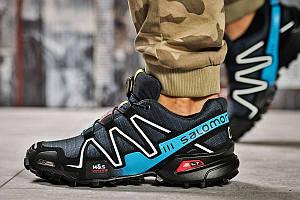 Кроссовки мужские  Salomon Speedcross 3, темно-синие (11221) размеры в наличии ► [  41 (последняя пара)  ]