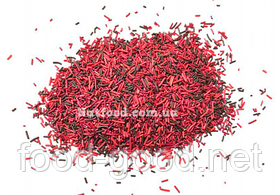 Посыпка палочки микс красная, 100г