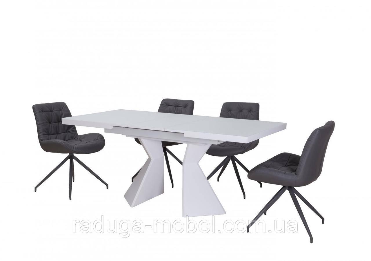 Стол кухонный обеденный белый TМL-535-2