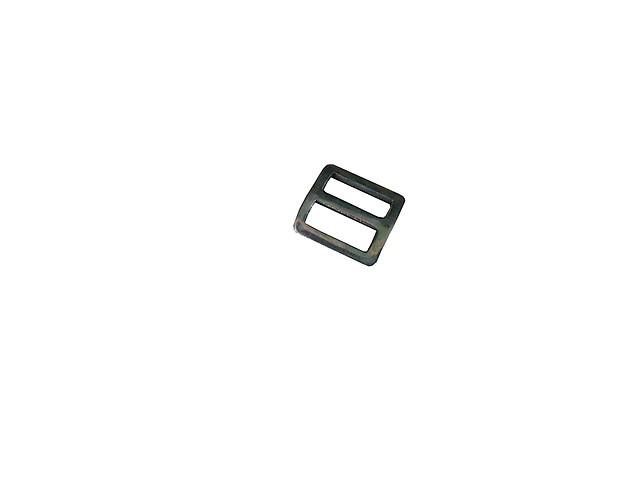 Пряжка 2-х щелевая 20 мм (металл)(усиленная)
