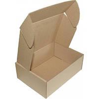 Самосборная картонная коробка - 225 × 160 × 50 - бурая
