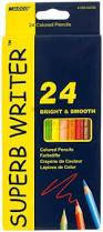 Карандаши цветные Marco Superb Writer 24 цвета (4100-24CB)