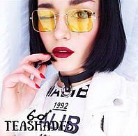 """Солнцезащитные Очки """"Квадратные"""" от Teashades - Zara Dior  H&M Ray Ban, Marc Jacobs Ретро Стиль"""