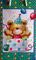 Подарочный пакет МАЛЫЙ 11х18х5см - 071