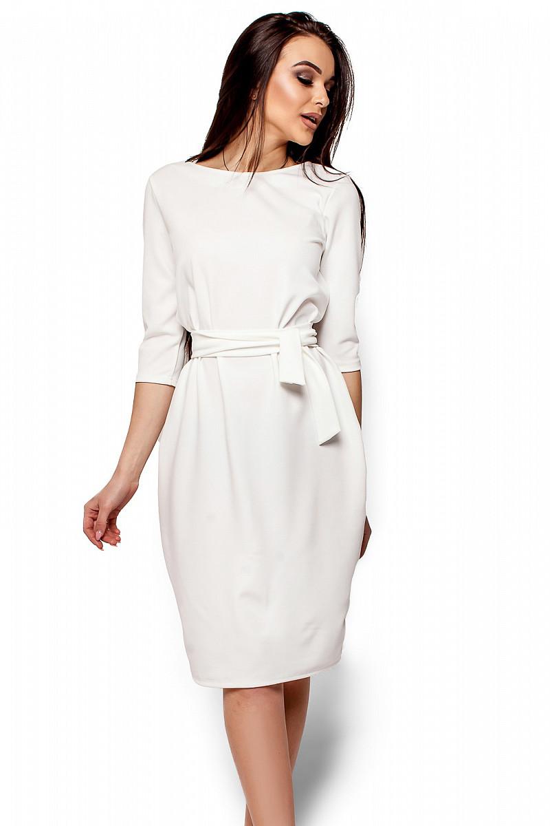 (S, M, L) Класичне молочне вечірнє плаття Ariell