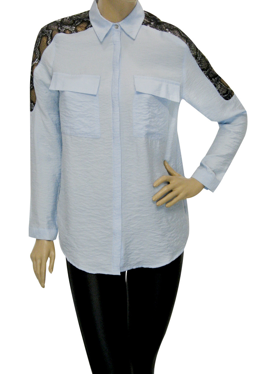 Жіноча сорочка із зміїним принтом