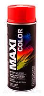 Акриловая краска Maxi Color RAL3001 цвет: ярко-красный 400мл.