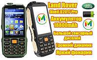 Защищенный противоударный телефон Land Rover D2017 Pro, аккумулятор 18800Mah + TV