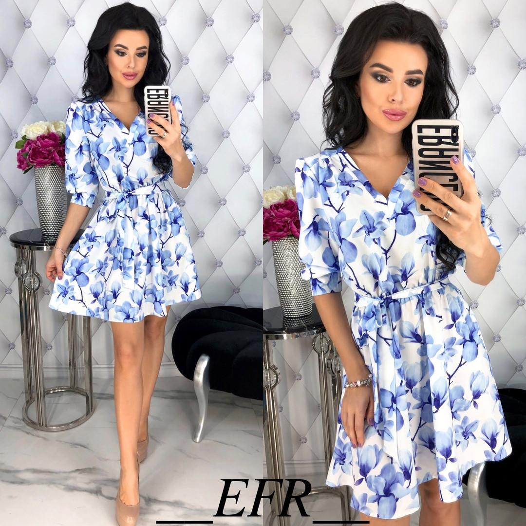 2ad4606d3e87 Купить Женское нежное платье с цветочным принтом от надежного поставщика
