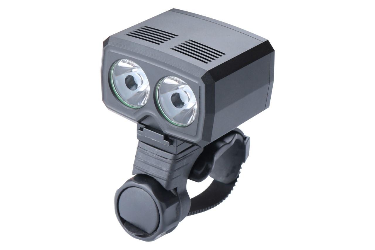 Фонарь пер. BC-FL1567 2 светодиода 500лм питание Li-on 1200mAh USB Al
