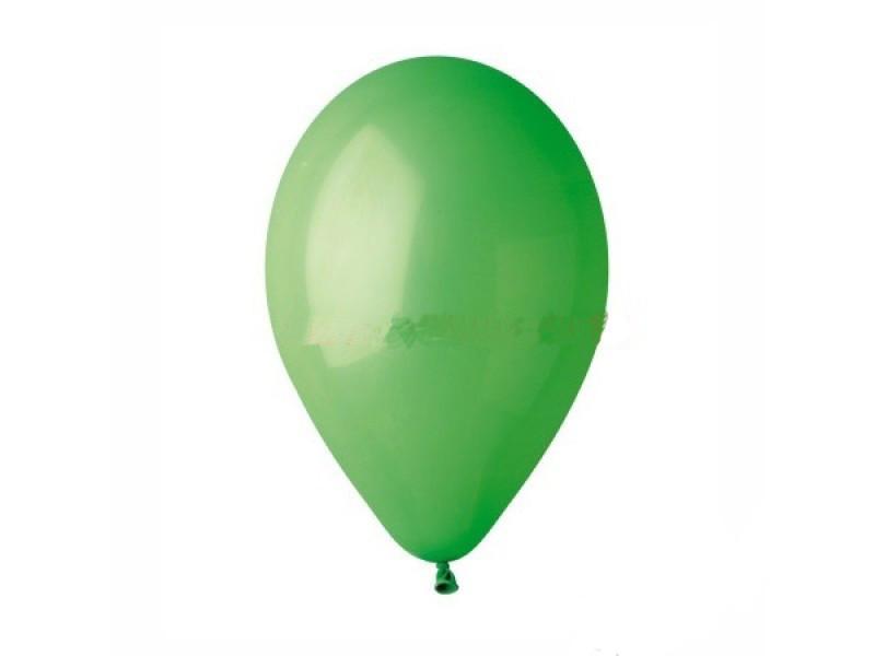 """Шары воздушные пастель Зеленый 5""""(13см) 100шт."""