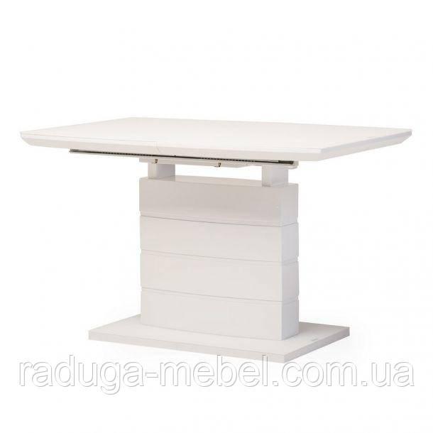 Стол кухонный обеденный белый матовый ТММ 50-1