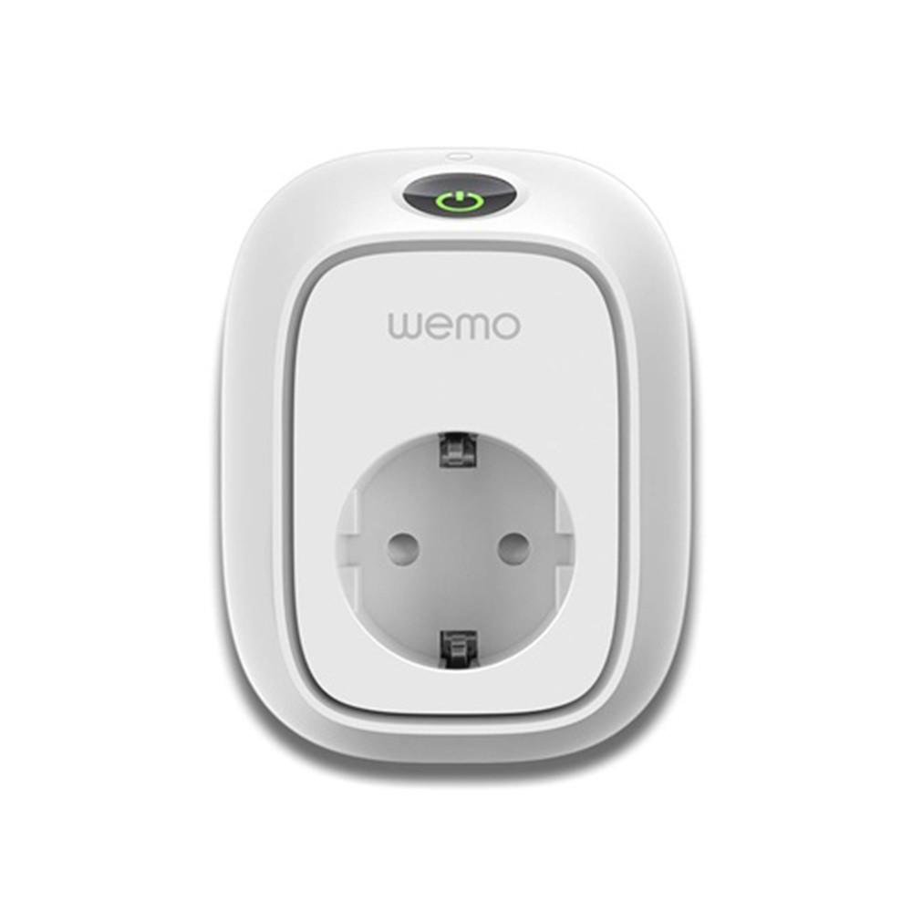 Умная розетка Belkin WeMo Switch со счётчиком потребления электричества (F7C029)
