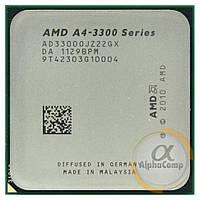 Процессор AMD A4-3300 (2×2.50GHz/1Mb/FM1) БУ