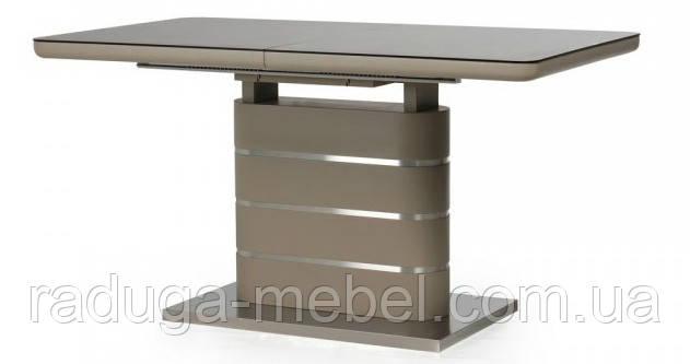 Стол кухонный обеденный матовый мокко TММ-50-1