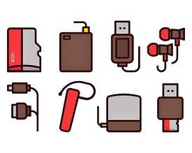 Аксессуары к мобильным телефонам