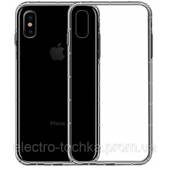"Чехол  TPU WUW Clear 0,5mm для Apple iPhone XS Max (6.5"")"