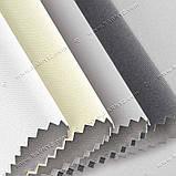 Рулонні штори термо Блекаут Сільвер графіт, фото 3
