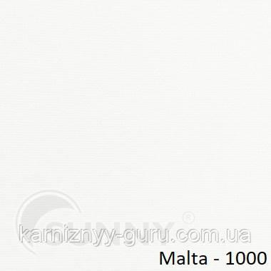 Рулонные шторы для окон в открытой системе Sunny, ткань  Malta -  1