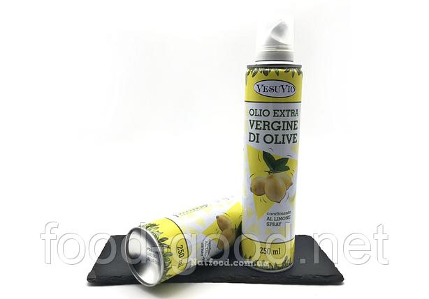 Оливковое масло-спрей с заправкой лимон vesuvio, 250мл, фото 2