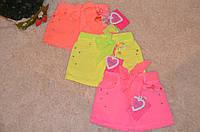 Котоновая юбка  для девочек 98-128 см