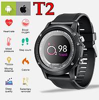 Фитнес браслет T2 Sport Waterproof IP68 Спорт часы T2 Smart Watch T2 Умные часы T2 Фитнес-браслет