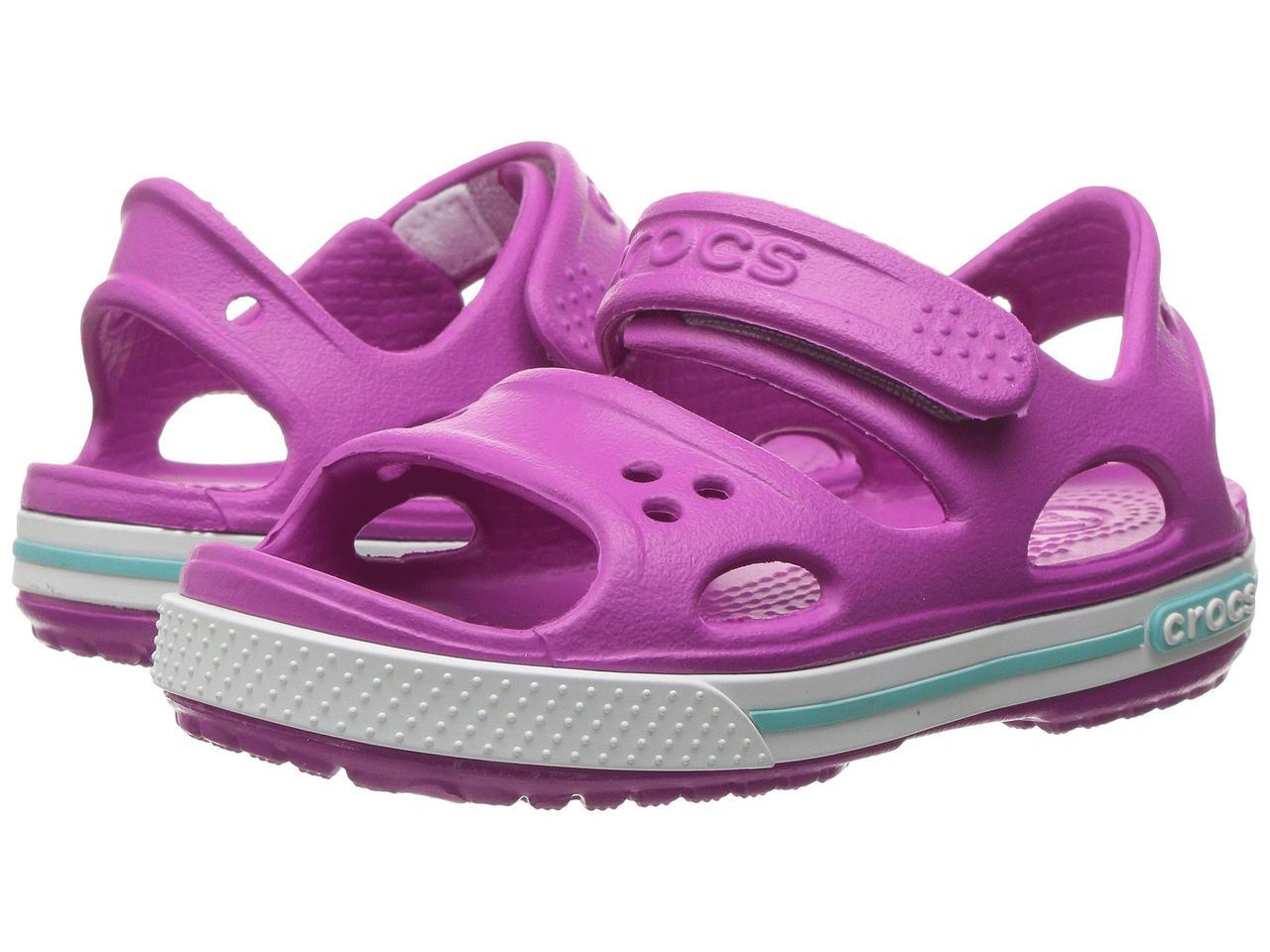 Босоножки для девочки Кроксы Крокбэнд 2 сандалии / Crocs Kids Crocband II Sandal