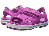 Босоножки для девочки Кроксы Крокбэнд 2 сандалии / Crocs Kids Crocband II Sandal, фото 1