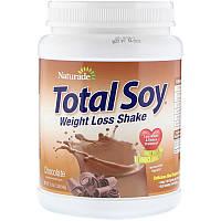 """Коктейль для похудения Naturade """"Total Soy Weight Loss Shake"""" соевый протеин, шоколадный вкус (540 г)"""
